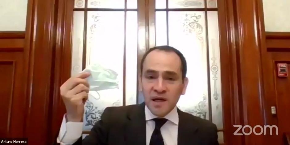Arturo Herrera-Cubrebocas-COVID-19-Reactivación-Economía-