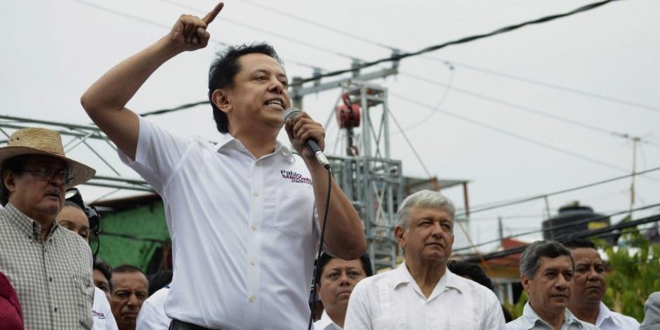 Pablo Amílcar Sandoval-AMLO-Investigación