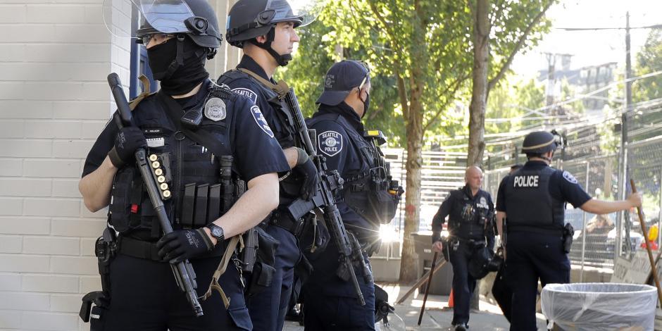 Policías de Seattle