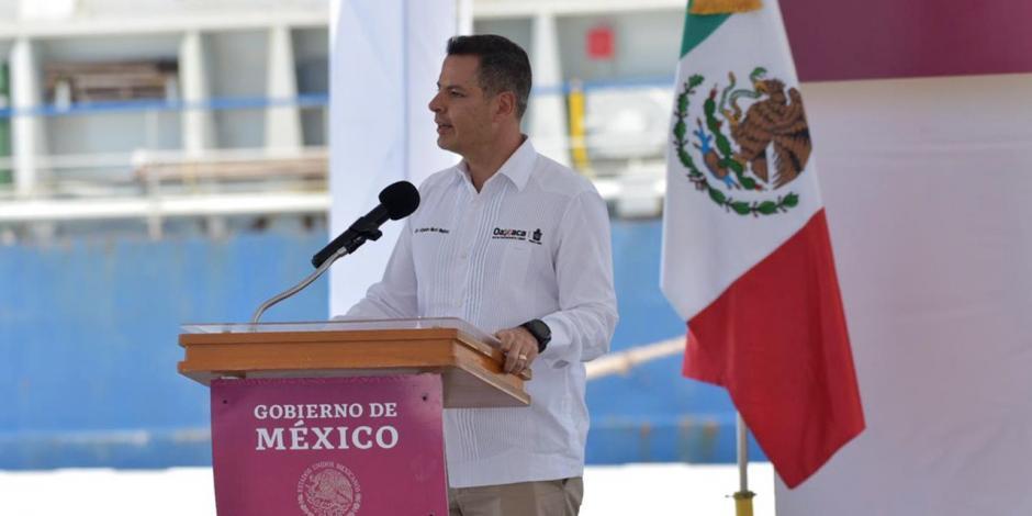 El gobernador Alejandro Murat