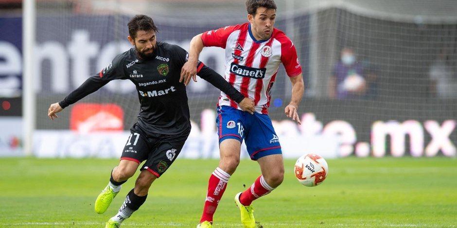 Atlético de San Luis y Bravos dividen unidades en su debut en Guard1anes 2020