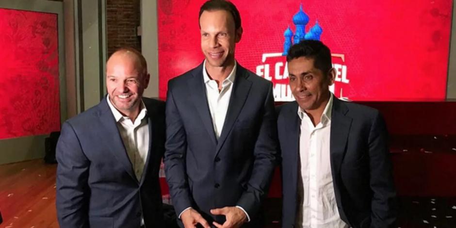 Jorge Campos, Luis García y Zague
