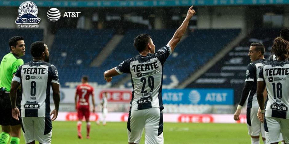 Monterrey 3-1 Toluca