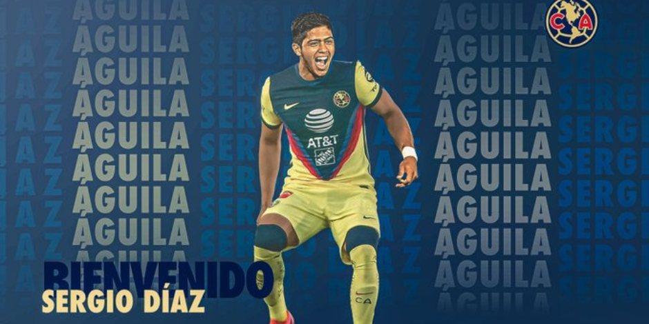 América hace oficial el fichaje de Sergio Díaz procedente del Real Madrid
