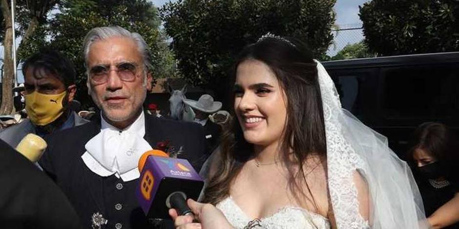 Alejandro Fernandez_hija Camila boda