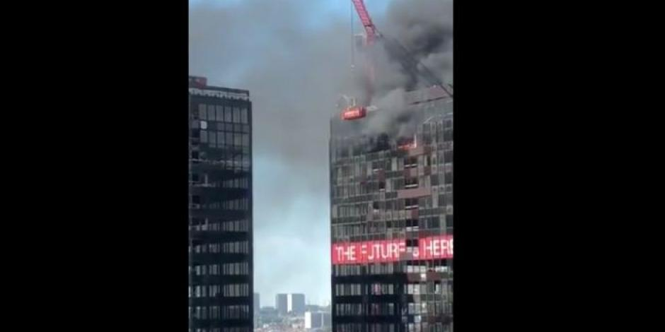 Bruselas-WTC-incendio