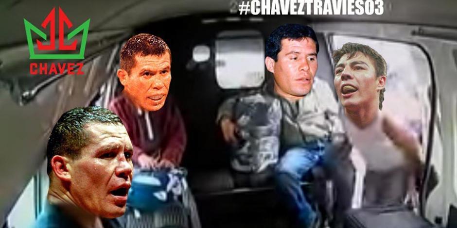 Julio-Cesar-Chavez-Jorge-Travieso-Arce-Box