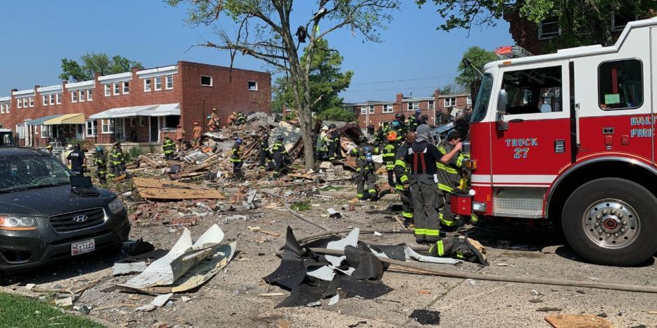 Explosión en Baltimore