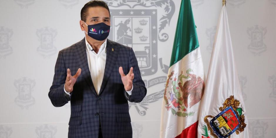 Silvano Aureoles, gobernador de Michoacán