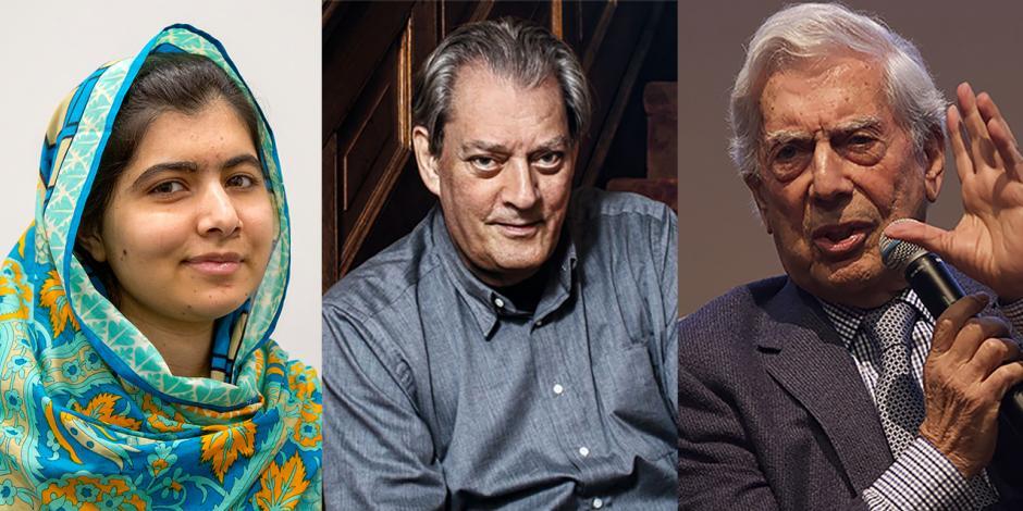 Malala, Paul Auster y Vargas Llosa