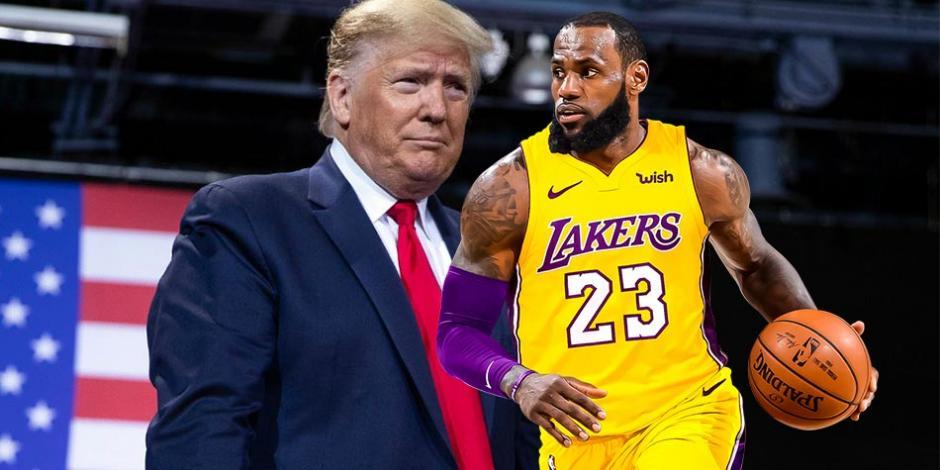 Donald-Trump-LeBron-James-Basquetbol-NBA-Estados-Unidos