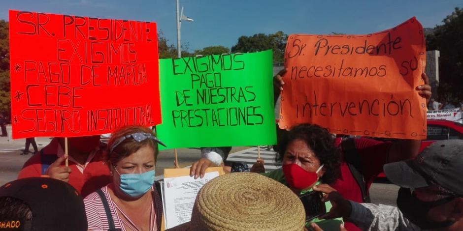 Protestas Acapulco