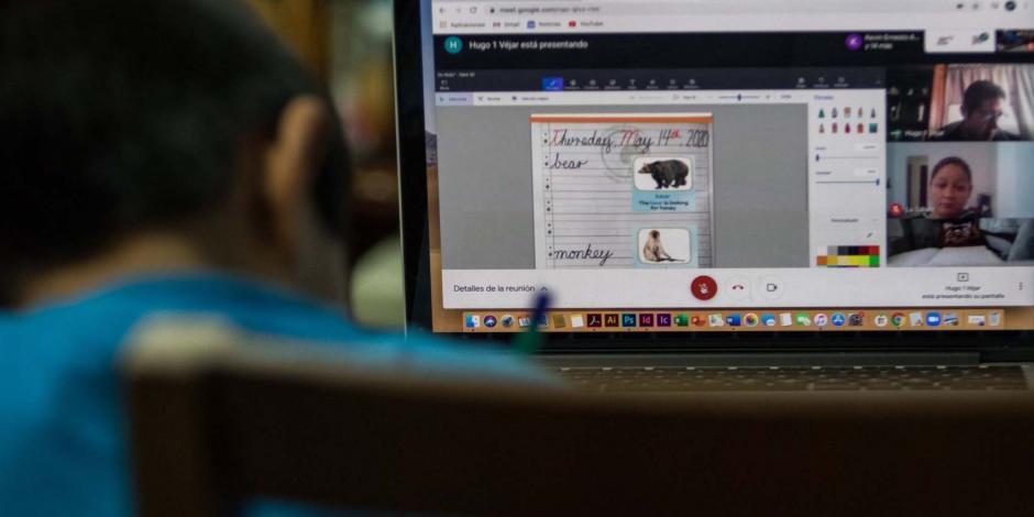 Niños clases en línea