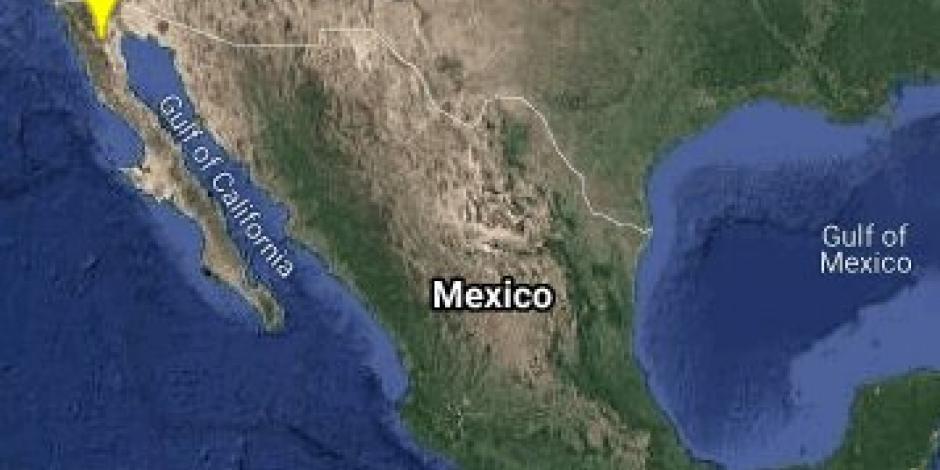 Epicentros sismo BC