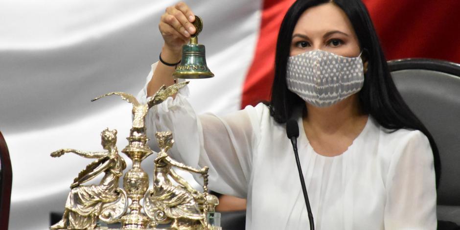 Laura Rojas evidencia casos de misoginia en el Congreso mexicano