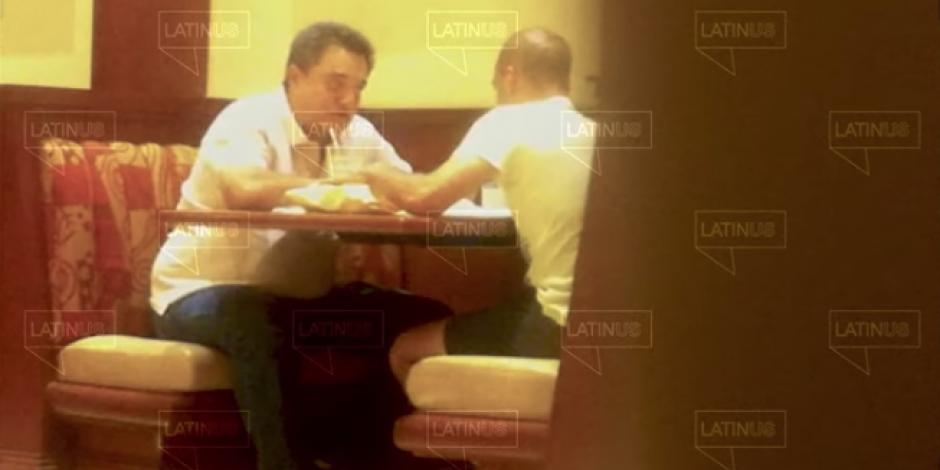 Video Latinus David León y Pío López Obrador 1