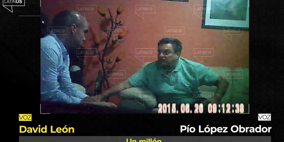 Video Latinus David León y Pío López Obrador 2