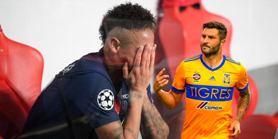 Gignac se burla del PSG tras su derrota en la Champions League