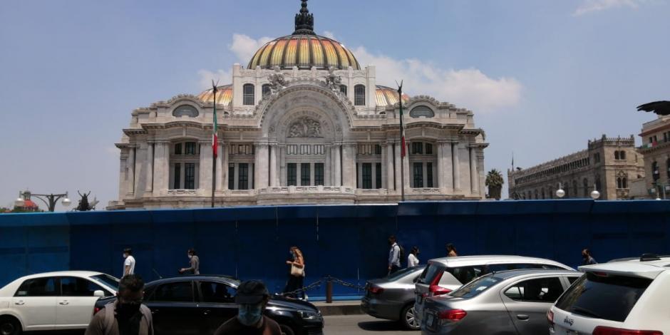 Palacio de Bellas Artes reapertura