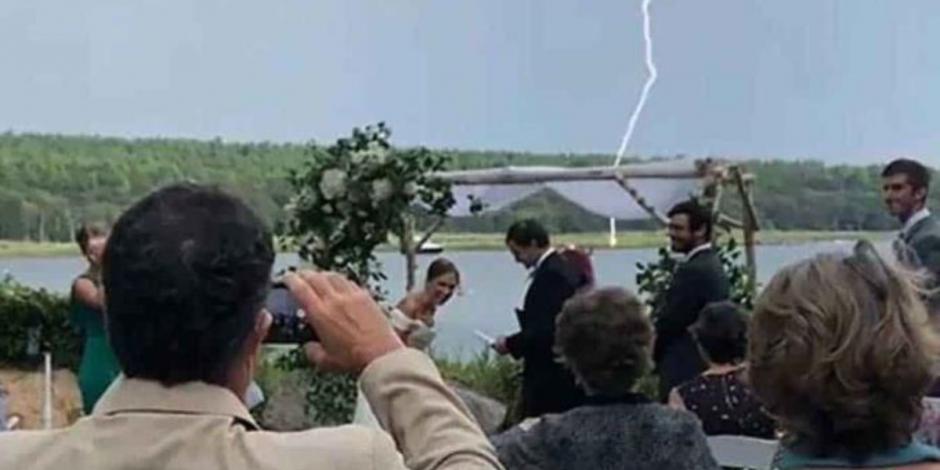 rayo en boda
