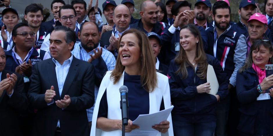 Margarita Zavala-México Libre-AMLO
