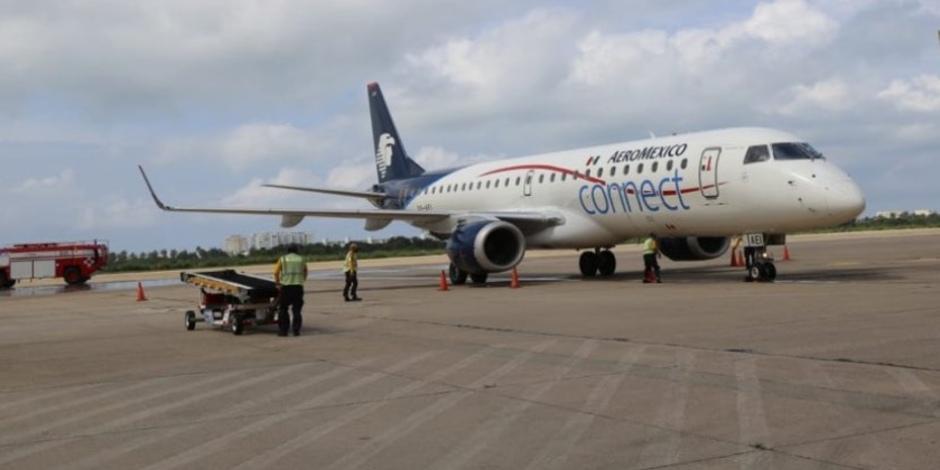 Aeroméxico-Guerrero-Héctor Astudillo-Turismo-COVID-19