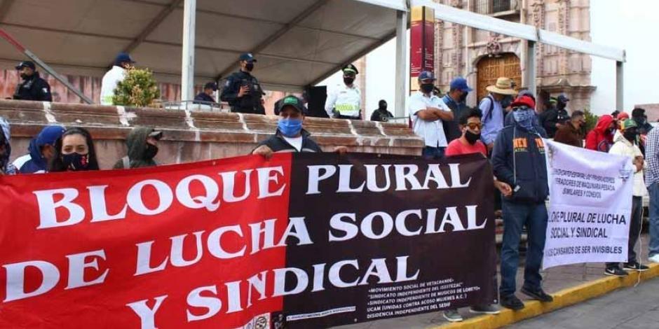 Bloque sindical Zacatecas