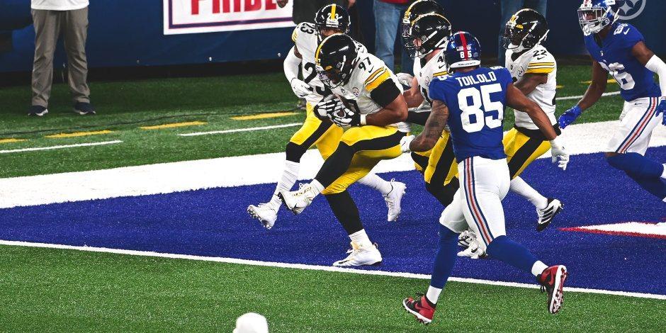 Los Steelers derrotan a los Giants en la Semana 1 de la NFL