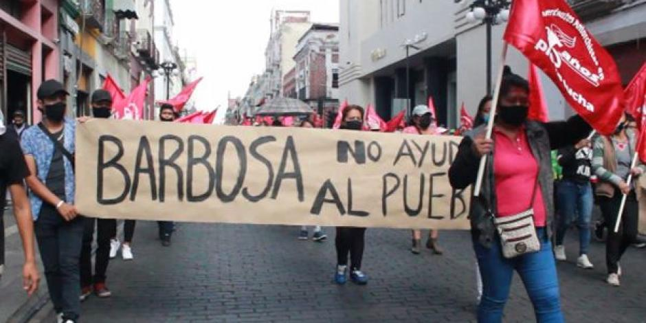 Manifestación Puebla