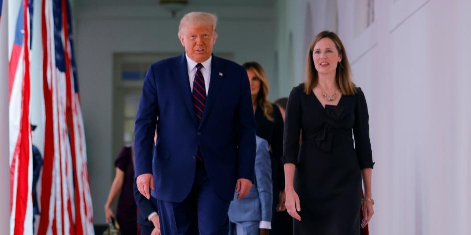 Donald Trump-Amy Coney Barrett-Jueza-Estados Unidos