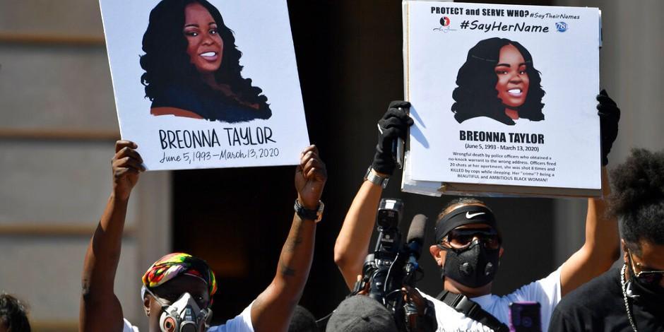 Berona Taylor-Estados Unidos-Protestas-Violencia policial