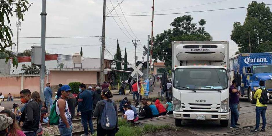 Nuevo bloque tren Uruapan