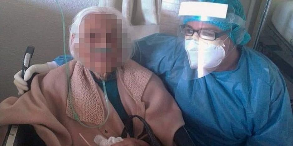 Mujer 103 años-IMSS-COVID-19