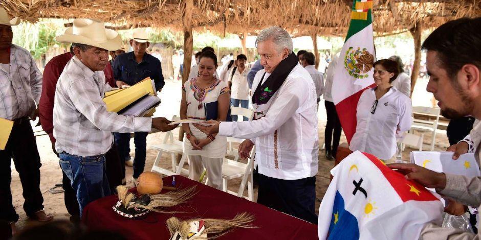 Pueblos originarios-Yaquis-Día del Perdón a pueblos-AMLO