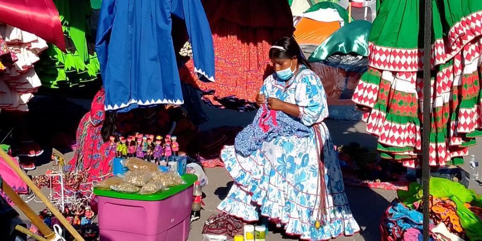 Fermín Calzadilla, dirgente de los indígenas rarámuris.