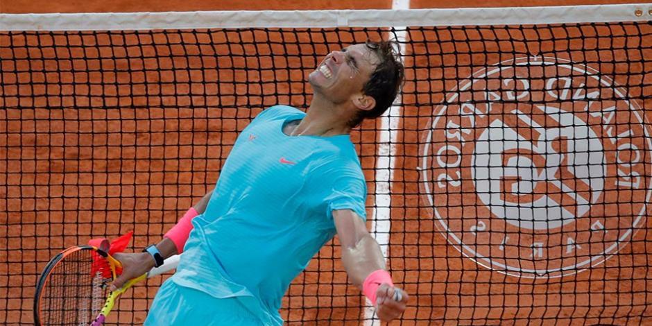 Nadal se corona en Roland Garros y alcanza a Federer con más títulos de Grand Slam