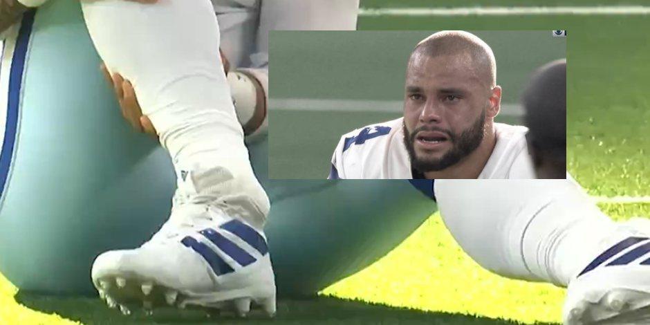NFL: Dak Prescott sufre una dramática lesión y lo trasladan al hospital (VIDEO)