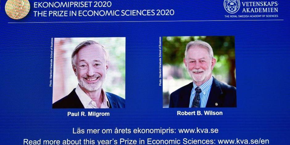 Premio Nobel de Economía-Paul R. Milgrom-Robert B. Wilson-