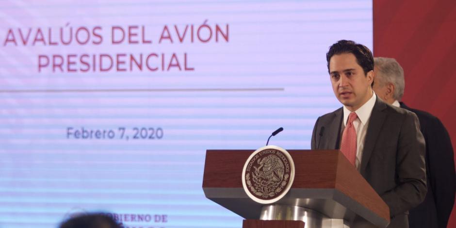 Jorge Mendoza Sánchez, director general del Banco Nacional de Obras y Servicios Públicos (Banobras).