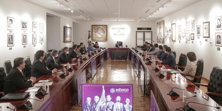 Reunión entre AMLO y el Consejo de Administración del Infonavit