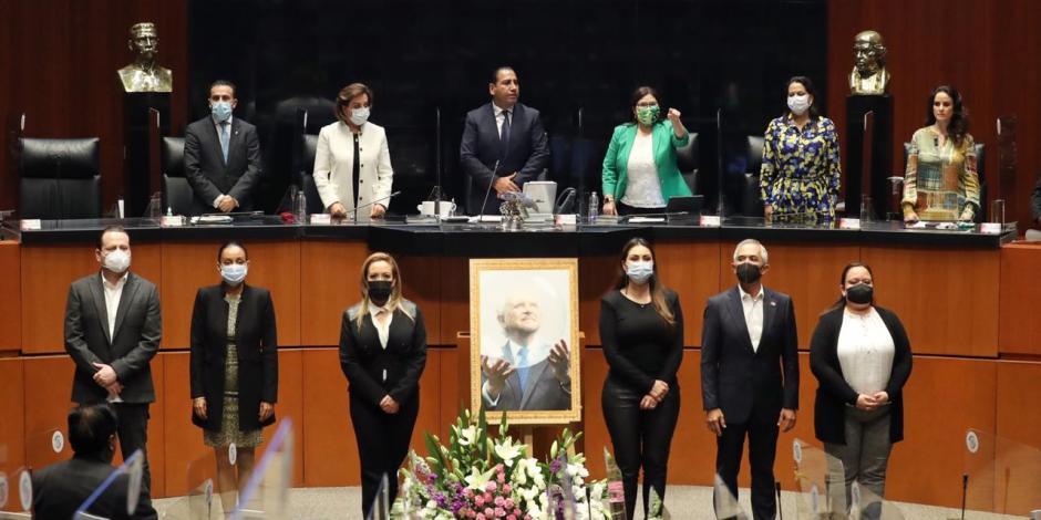 Homenaje a Mario Molina en el Senado