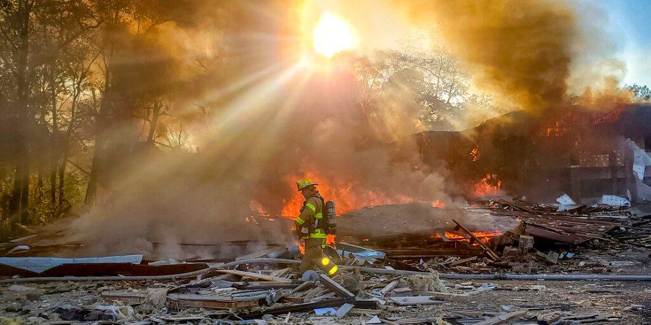 Explosión en centro comercial en Virginia