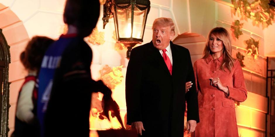 Halloween Casa Blanca Donald Trump