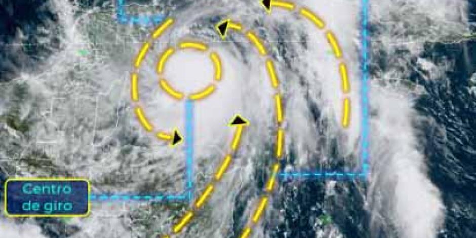 Zeta es huracán