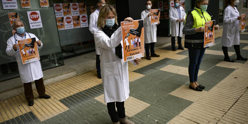 Huelga médicos Esáña