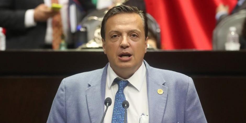 El diputado de Morena, Luis Alegre