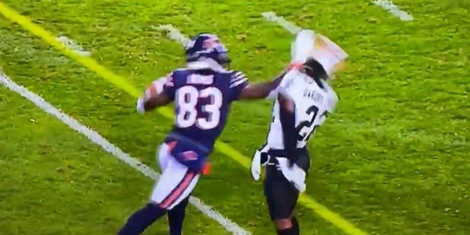 NFL: ¡Hay tiro! Se arma la campal en el duelo entre Saints y Bears (VIDEO)