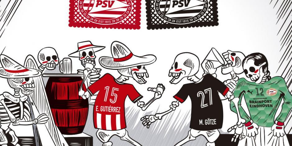 Día de Muertos: Equipos de Europa lo celebran de manera muy mexicana