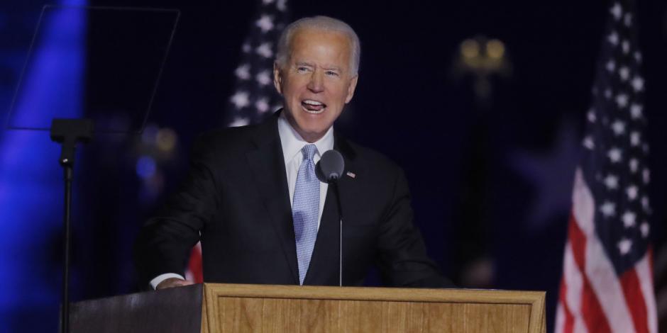 Joe Biden, virtual ganador de las elecciones en EU