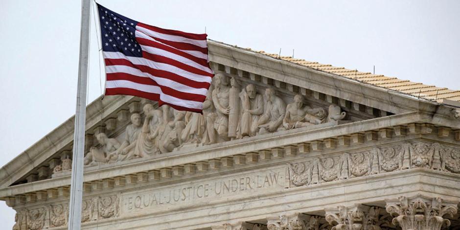 El Tribunal Supremo en Washington D.C, la capital de Estados Unidos, en una imagen de archivo de noviembre de 2018